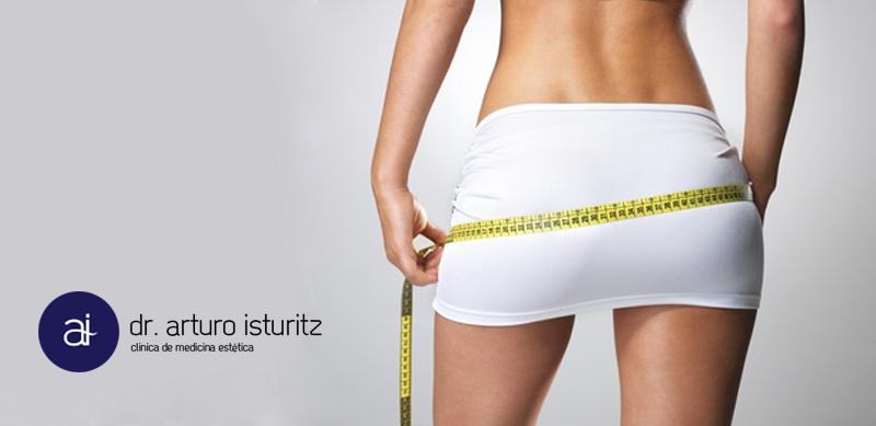 obesidad celulitis flacidez clinica Isturitz