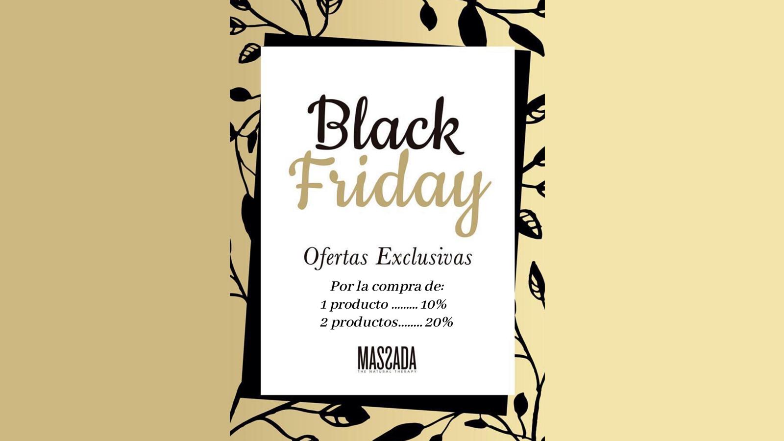 Black Friday Massada - Clínica Isturitz   medicina estética – Donostia San Sebastián